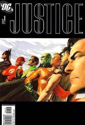 Justice #1 3rd Third Print Variant (2005) Alex Ross DC comic book